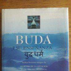 Libros de segunda mano: BUDA Y SU ENSEÑANZA / EDI. EDAF / 1ª EDICIÓN 2007. Lote 128029531