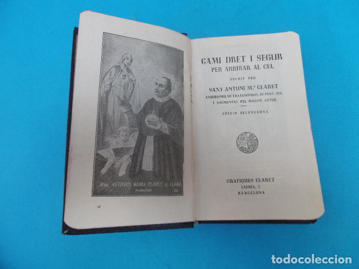 Libros de segunda mano: CAMI DRET - 1951 - SANT ANTONI Mº CLARET - - GRAFIQUES CLARET - ENC. TELA - Foto 4 - 128134067