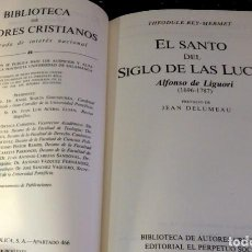 Libros de segunda mano: EL SANTO DEL SIGLO DE LAS LUCES, BAC, BIBLIOTECA DE AUTORES CRISTIANOS. Lote 128280391
