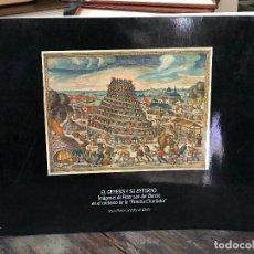 Libros de segunda mano: EL GENESIS Y SU ENTORNO IMÁGENES DE PETER VAN DER BORCHT EN EL CONTEXTO DE LA FAMILIA. Lote 128574567