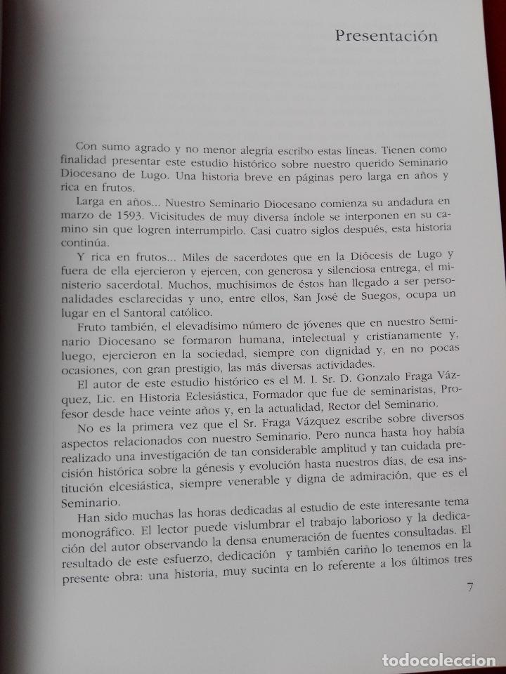Libros de segunda mano: libro-el seminario diocesano de lugo-buen estado-ver fotos - Foto 5 - 128607611