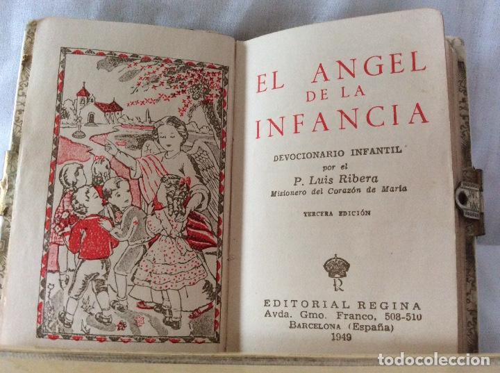 Libros de segunda mano: El Angel de la Infancia ..editorial Regina 1949 - Foto 2 - 129549463