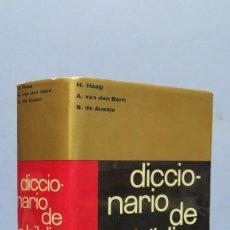 Libros de segunda mano: DICCIONARIO DE LA BIBLIA. ED. HERDER. Lote 129659303