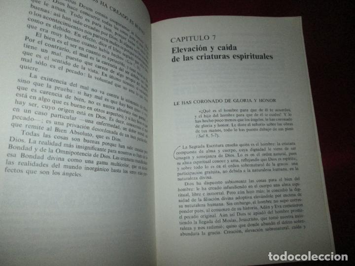 Libros de segunda mano: libro-palabras de vida eterna-charlas sobre el credo.jesús ortiz-Ed.Magisterio español-1981 - Foto 8 - 129694039