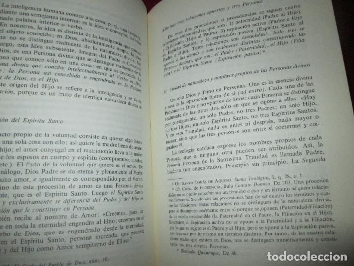 Libros de segunda mano: libro-palabras de vida eterna-charlas sobre el credo.jesús ortiz-Ed.Magisterio español-1981 - Foto 10 - 129694039
