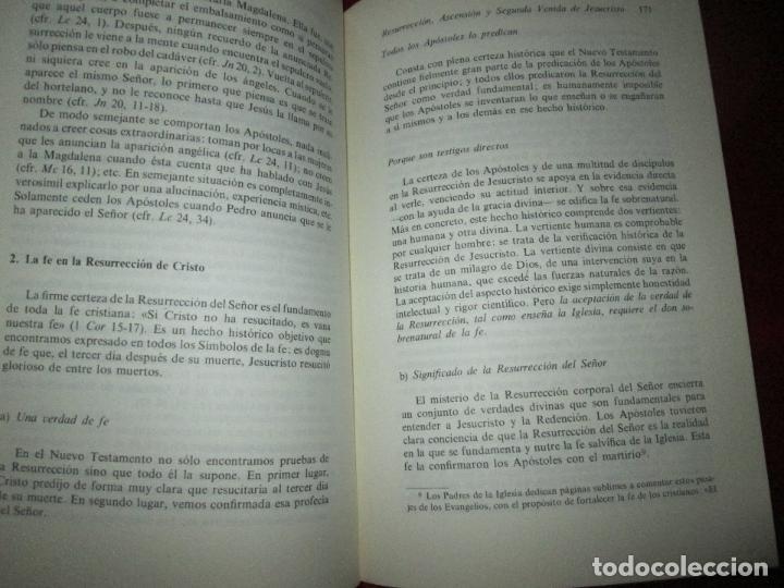 Libros de segunda mano: libro-palabras de vida eterna-charlas sobre el credo.jesús ortiz-Ed.Magisterio español-1981 - Foto 11 - 129694039