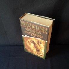 Libros de segunda mano: MAXIMILIANO HERRAIZ - SAN JUAN DE LA CRUZ, OBRAS COMPLETAS - EDICIONES SIGUEME 1991. Lote 130318326