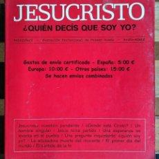Libros de segunda mano: JESUCRISTO - QUIEN DICES QUE SOY - RELIGION - FORMACIÓN PROFESIONAL DE 1º GRADO. Lote 130333026