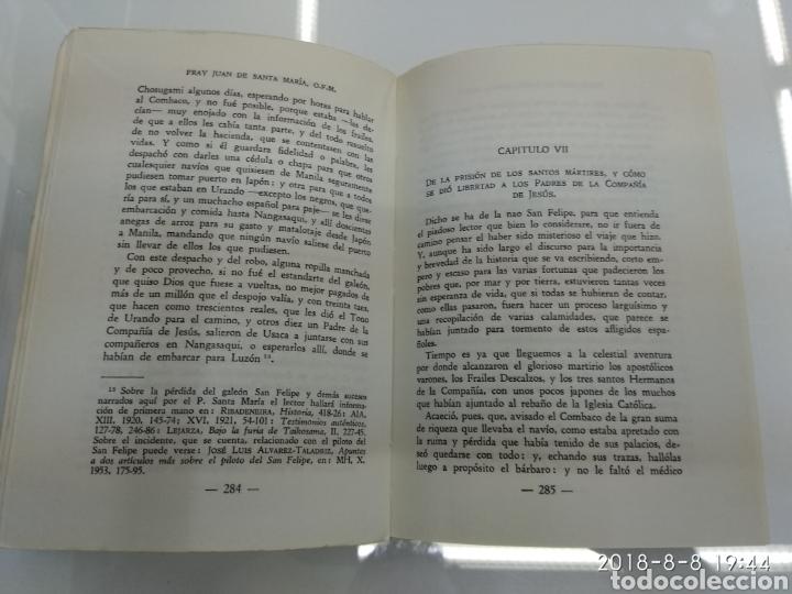 Libros de segunda mano: RELACION DEL MARTIRIO FRAY JUAN DE SANTA MARIA 1966 FRANCISCOS Y JESUITAS EN JAPON - Foto 7 - 130350994