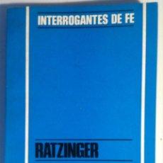 Libros de segunda mano - Joseph Ratzinger & Hans Maier. ¿Democracia en la Iglesia? 1971 - 130614570