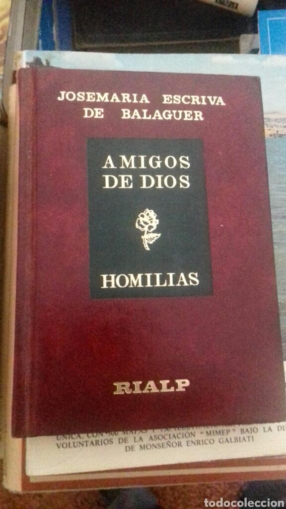 AMIGOS DE DIOS HOMILÍAS. RIALP. (Libros de Segunda Mano - Religión)