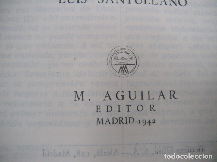 Libros de segunda mano: SANTA TERESA DE JESÚS, OBRAS COMPLETAS. AGUILAR 1942 - Foto 2 - 132493506
