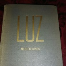 Libros de segunda mano: LUZ. (MEDITACIONES). J. REY, S.J. SAL TERRAE, 1959.. Lote 131535458