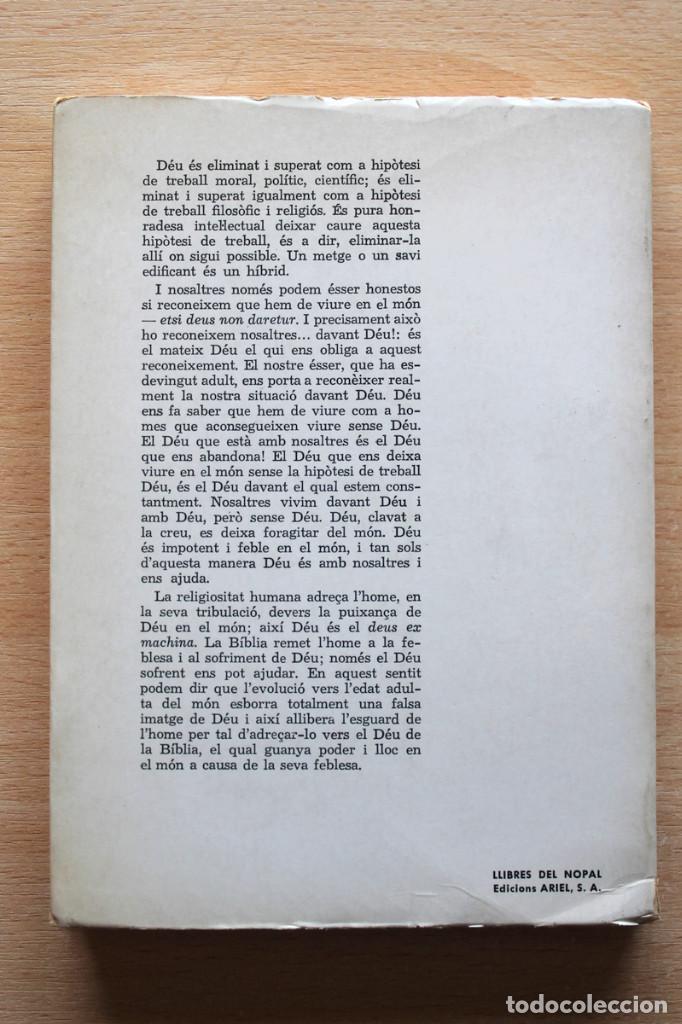 Libros de segunda mano: Dietrich Bonhoeffer - Resistència i submissió. Lletres i apunts de captivitat - Llibres del Nopal - Foto 2 - 131796302