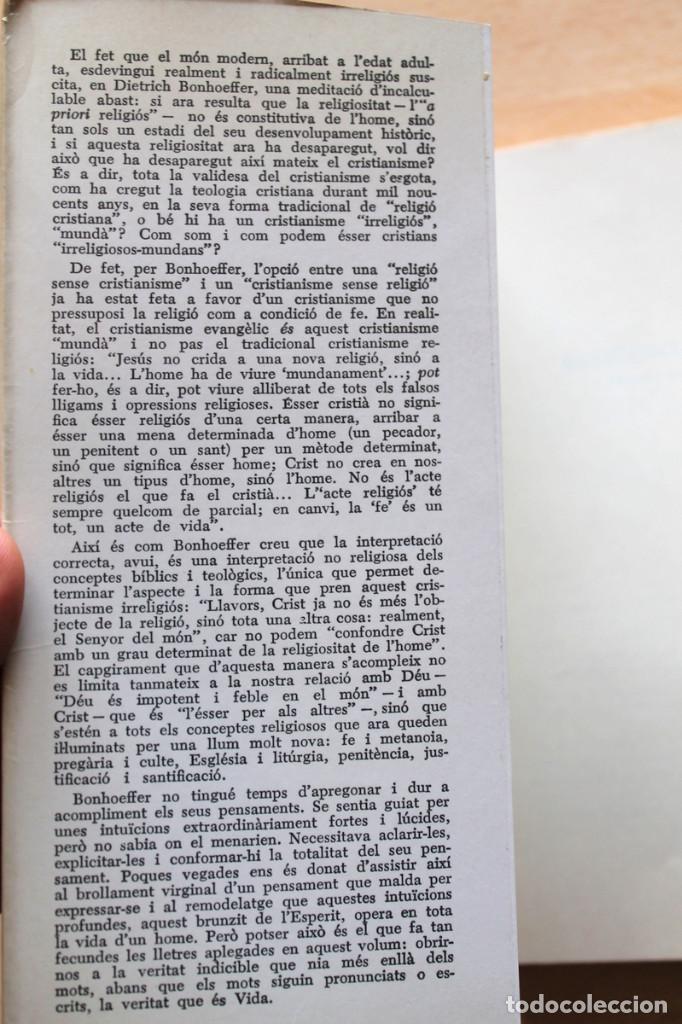 Libros de segunda mano: Dietrich Bonhoeffer - Resistència i submissió. Lletres i apunts de captivitat - Llibres del Nopal - Foto 3 - 131796302