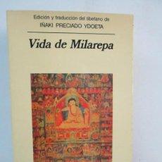 Libros de segunda mano: VIDA DE MILAREPA. IÑAKI PRECIADO YDOETA. EDITORIAL ANAGRAMA 1994. VER FOTOGRAFIAS ADJUNTAS. Lote 132183538