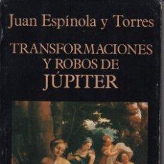 Libros de segunda mano: JÚPITER, TRANSFORMACIONES Y ROBOS DE. Lote 132222927