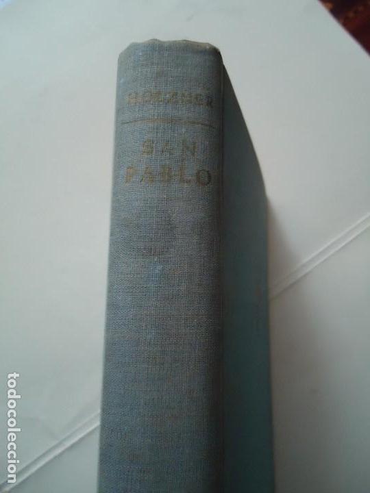 Libros de segunda mano: LIBRO. SAN PABLO, HERALDO DE CRISTO, DE JOSEF HOLZNER, 1961.EDICIÓN CORREGIDA Y AUMENTADA. - Foto 2 - 132774710
