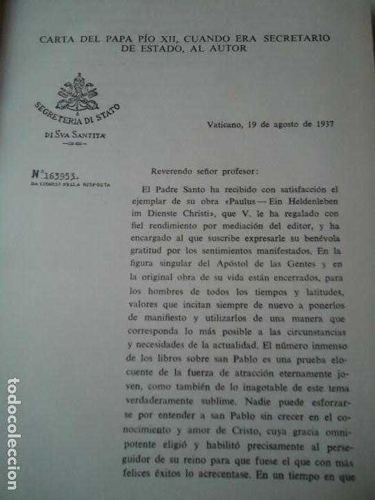 Libros de segunda mano: LIBRO. SAN PABLO, HERALDO DE CRISTO, DE JOSEF HOLZNER, 1961.EDICIÓN CORREGIDA Y AUMENTADA. - Foto 3 - 132774710