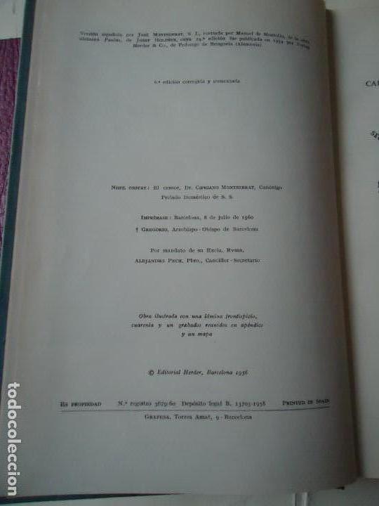 Libros de segunda mano: LIBRO. SAN PABLO, HERALDO DE CRISTO, DE JOSEF HOLZNER, 1961.EDICIÓN CORREGIDA Y AUMENTADA. - Foto 4 - 132774710