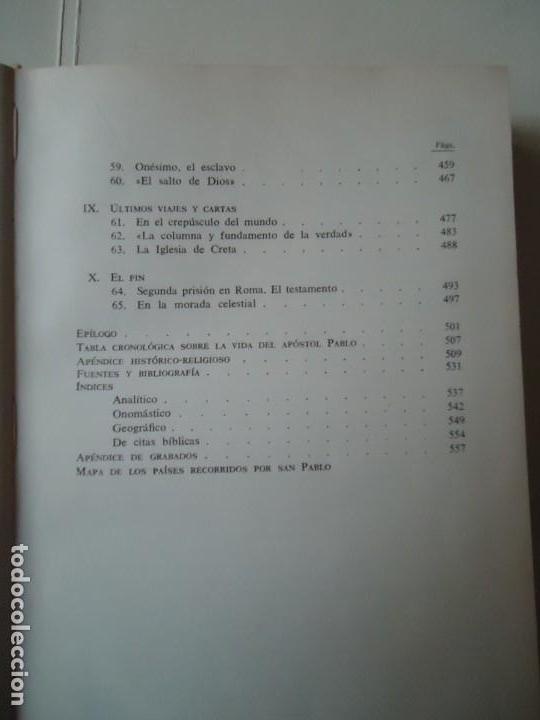 Libros de segunda mano: LIBRO. SAN PABLO, HERALDO DE CRISTO, DE JOSEF HOLZNER, 1961.EDICIÓN CORREGIDA Y AUMENTADA. - Foto 7 - 132774710