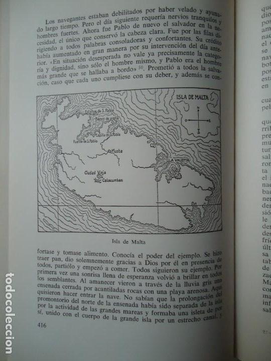 Libros de segunda mano: LIBRO. SAN PABLO, HERALDO DE CRISTO, DE JOSEF HOLZNER, 1961.EDICIÓN CORREGIDA Y AUMENTADA. - Foto 8 - 132774710