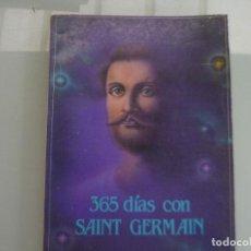 Libros de segunda mano: 365 DIAS CON SAINT GERMAIN AGENDA PERPETUA. Lote 133047022