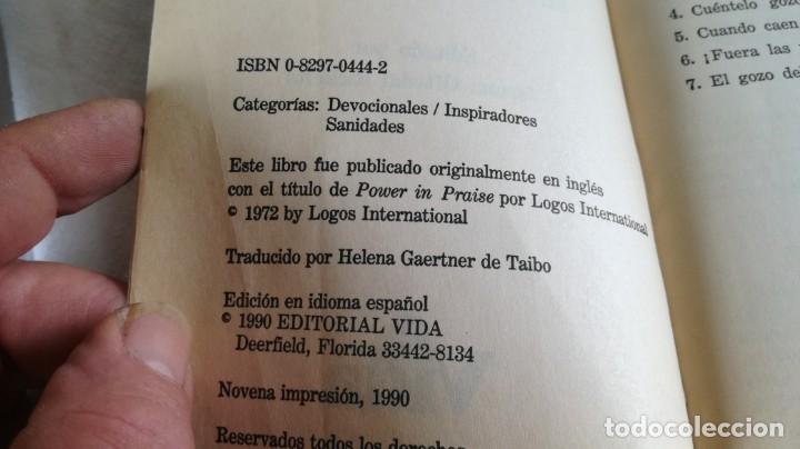 Libros de segunda mano: el poder de la alabanza-Merlin R. CAROTHERS-editorial vida 1990 - Foto 6 - 133177926