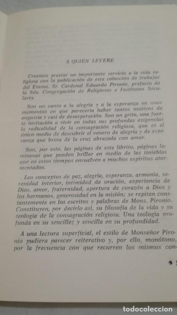 Libros de segunda mano: REFLEXIONES SOBRE LA VIDA RELIGIOSA-EDUARDO PIRONIO-ED. CLAUNE - Foto 7 - 133267562