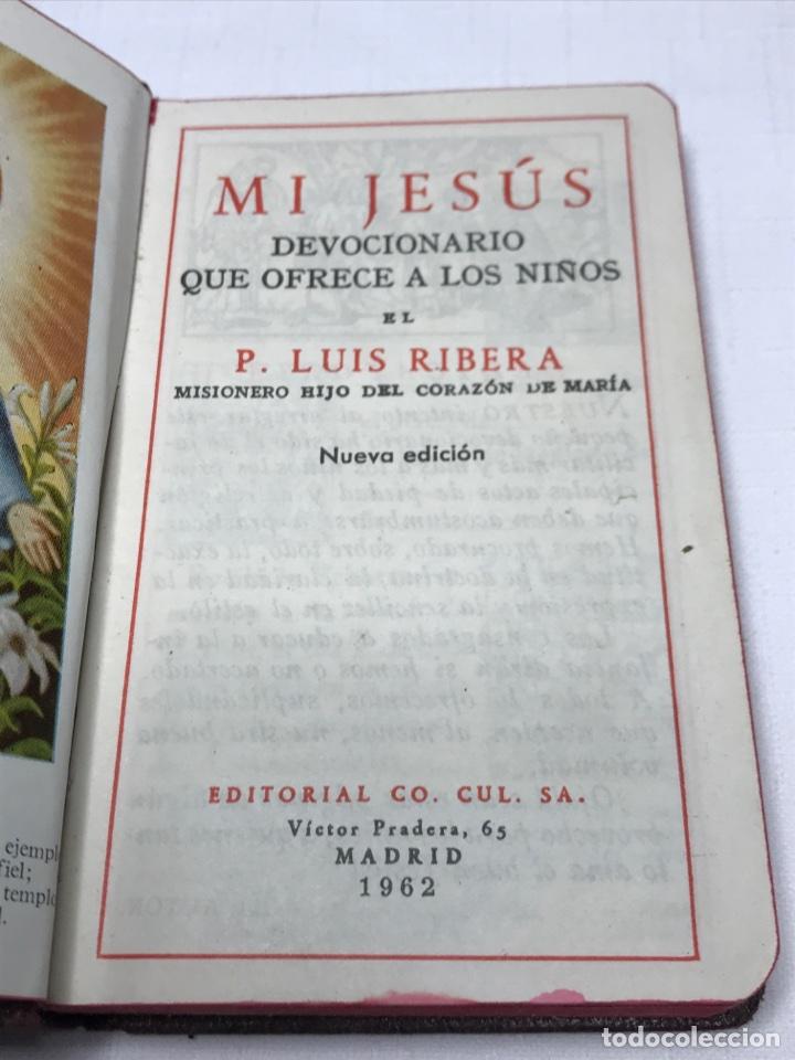 Libros de segunda mano: MI JESÚS - Foto 3 - 137263057