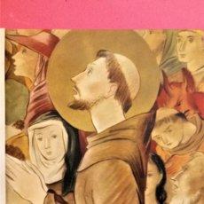 Libros de segunda mano: LIBRO,LAS FLORECILLAS DE SAN FRANCISCO,AÑO 1946,EDICION LIMITADA DE 1525 UNID.NUMERADAS,PRECIOSO. Lote 133411510