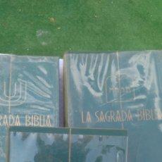 Libros de segunda mano: LA SAGRADA BIBLIA .BARCELONA 1961. PRIMERA EDICION.MONTANER Y SIMON. Lote 133548238