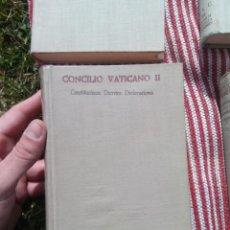 Libros de segunda mano: CONCILIO VATICANO II CONSITUCIONES DECRETOS Y DECLARACIONES - VVAA. B.A.C.. Lote 133815866