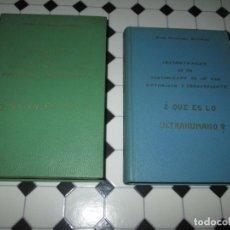 Libros de segunda mano: LOTE 2 LIBROS-¿QUIEN ES DIOS? Y ¿QUE ES LO ULTRAHUMANO?-1967-EXCELENTE ESTADO-VER FOTOS. Lote 133853974