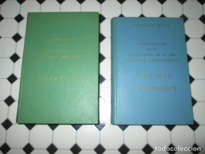 Libros de segunda mano: lote 2 libros-¿quien es dios? y ¿que es lo ultrahumano?-1967-excelente estado-ver fotos - Foto 2 - 133853974