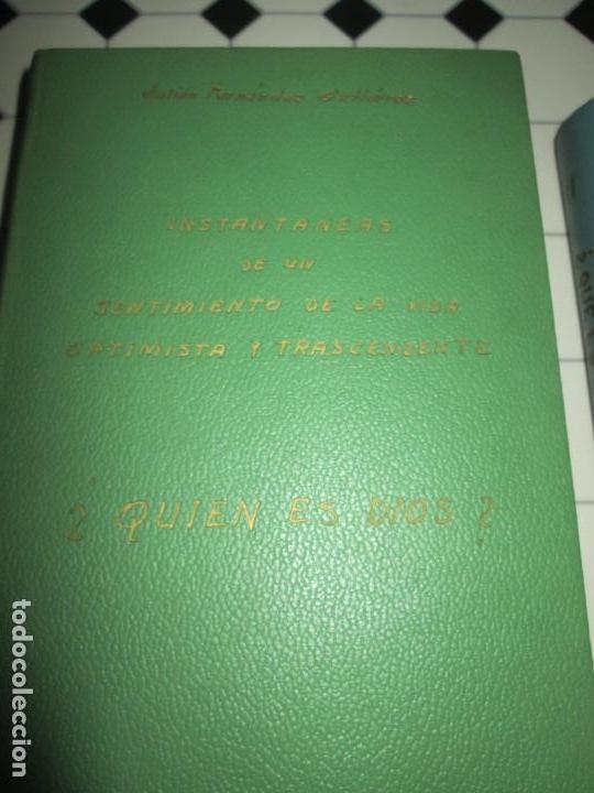 Libros de segunda mano: lote 2 libros-¿quien es dios? y ¿que es lo ultrahumano?-1967-excelente estado-ver fotos - Foto 3 - 133853974