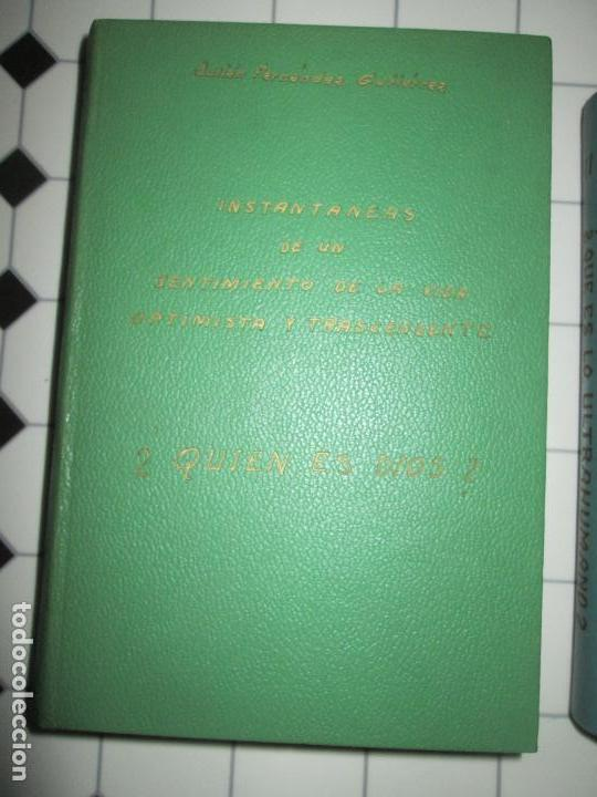 Libros de segunda mano: lote 2 libros-¿quien es dios? y ¿que es lo ultrahumano?-1967-excelente estado-ver fotos - Foto 4 - 133853974