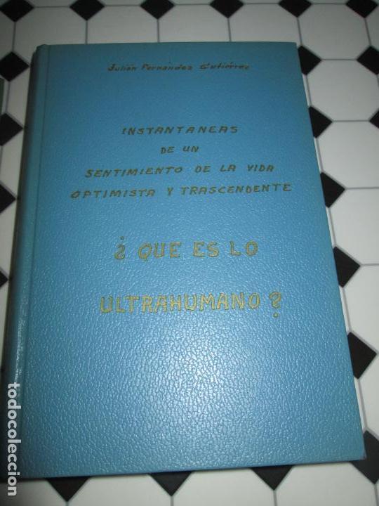Libros de segunda mano: lote 2 libros-¿quien es dios? y ¿que es lo ultrahumano?-1967-excelente estado-ver fotos - Foto 5 - 133853974