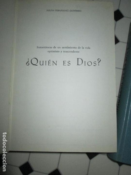 Libros de segunda mano: lote 2 libros-¿quien es dios? y ¿que es lo ultrahumano?-1967-excelente estado-ver fotos - Foto 8 - 133853974