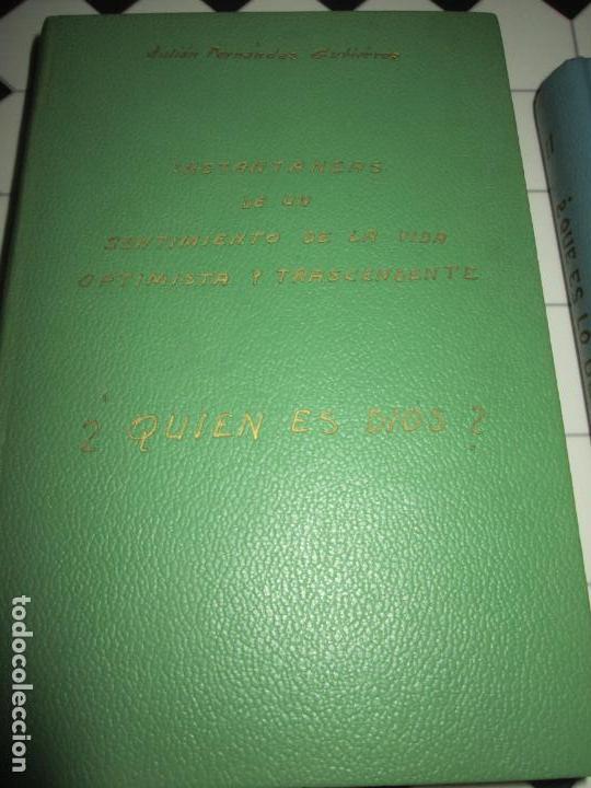 Libros de segunda mano: lote 2 libros-¿quien es dios? y ¿que es lo ultrahumano?-1967-excelente estado-ver fotos - Foto 9 - 133853974
