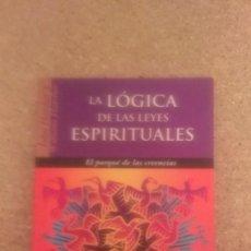 Libros de segunda mano: JOHN & WILLIAM HATCHER , LA LOGICA DE LAS LEYES ESPIRITUALES. Lote 133860666