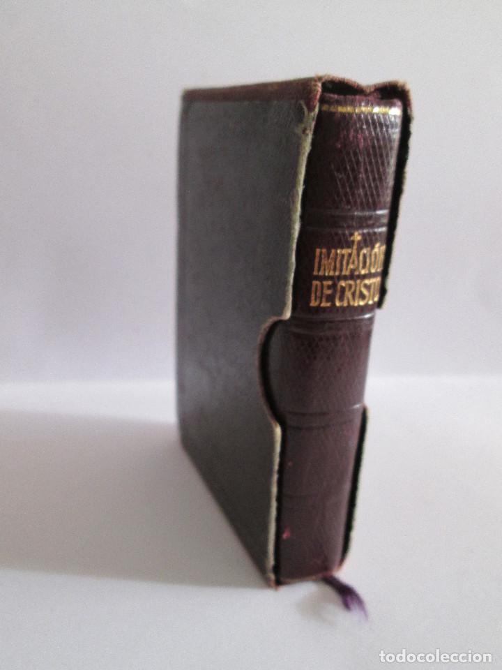 LIBRO MINIATURA - IMITACION DE CRISTO - TOMAS DE KEMPIS - 1956 - EDITORIAL REGINA 765 PAGINAS 9X6,5 (Libros de Segunda Mano - Religión)