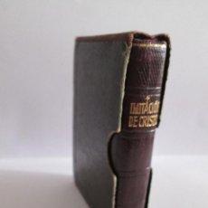 Libros de segunda mano: LIBRO MINIATURA - IMITACION DE CRISTO - TOMAS DE KEMPIS - 1956 - EDITORIAL REGINA 765 PAGINAS 9X6,5. Lote 134065070