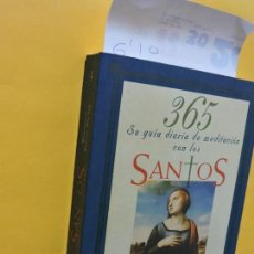Libros de segunda mano: 365 SU GUÍA DIARIA DE MEDITACIÓN CON LOS SANTOS. KOENIG-BRICKER, WOODEENE. ED. EDAF. MADRID 1996. Lote 134152354