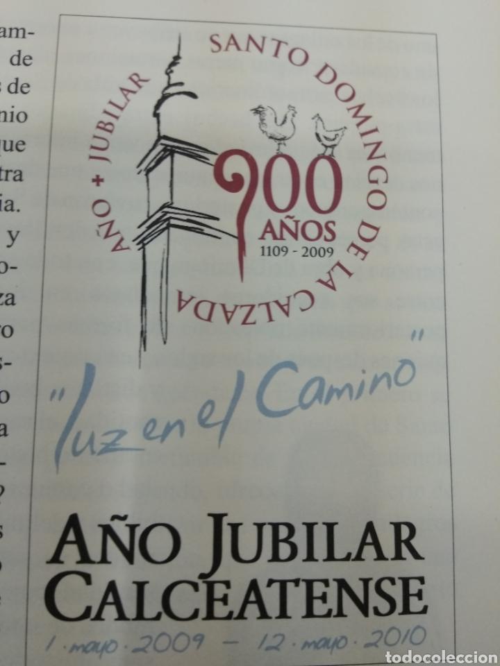 Libros de segunda mano: SANTO DOMINGO DE LA CALZADA Ingeniero y guía en el camino A. Calvo Espiga ILUSTRADO Camino Santiago. - Foto 3 - 134427951