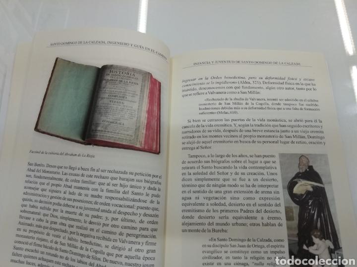 Libros de segunda mano: SANTO DOMINGO DE LA CALZADA Ingeniero y guía en el camino A. Calvo Espiga ILUSTRADO Camino Santiago. - Foto 6 - 134427951