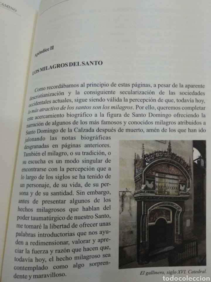 Libros de segunda mano: SANTO DOMINGO DE LA CALZADA Ingeniero y guía en el camino A. Calvo Espiga ILUSTRADO Camino Santiago. - Foto 11 - 134427951