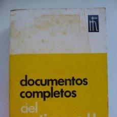 Libros de segunda mano: DOCUMENTOS COMPLETOS DEL VATICANO II. 1965.. Lote 134438626