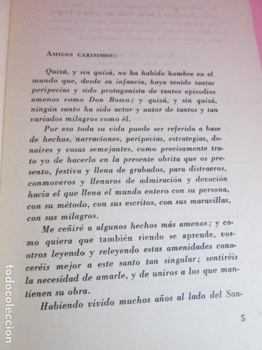 Libros de segunda mano: LIBRO-DON BOSCO QUE RÍE-J.L.CHIAVARINO-EDICIONES PULINAS-1962-VER FOTOS - Foto 7 - 134766934