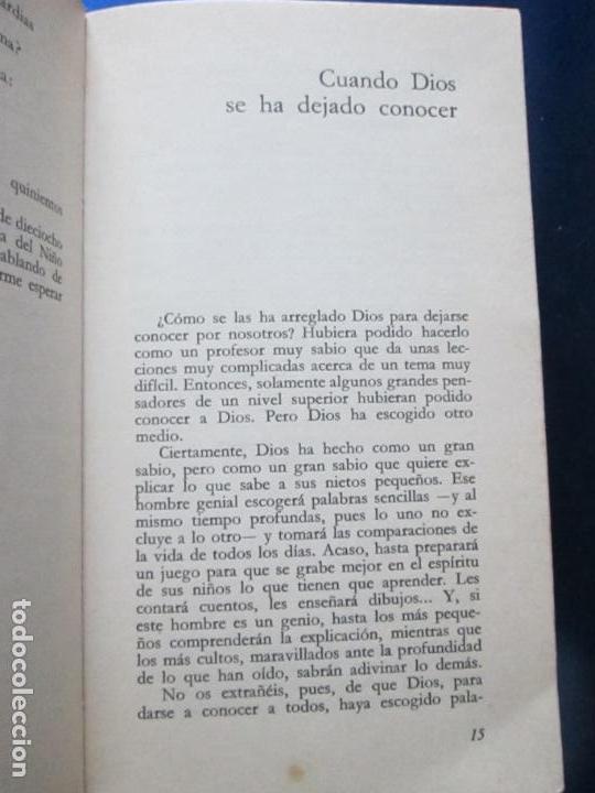 Libros de segunda mano: LIBRO-HE BUSCADO EN LA NOCHE-JACQUES LOEW-3ªEDICIÓN-1972-EXCELENTE-VER FOTOS - Foto 8 - 135015970